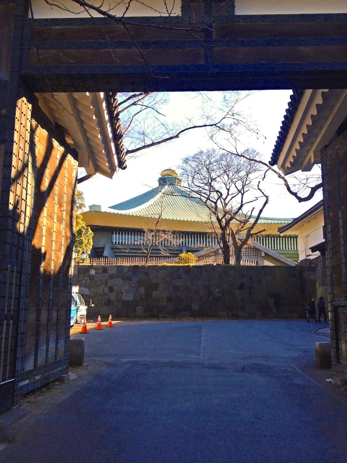 江戸城 田安門(重要文化財/北の丸公園)