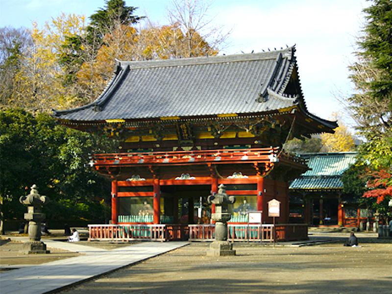 根津神社・楼門