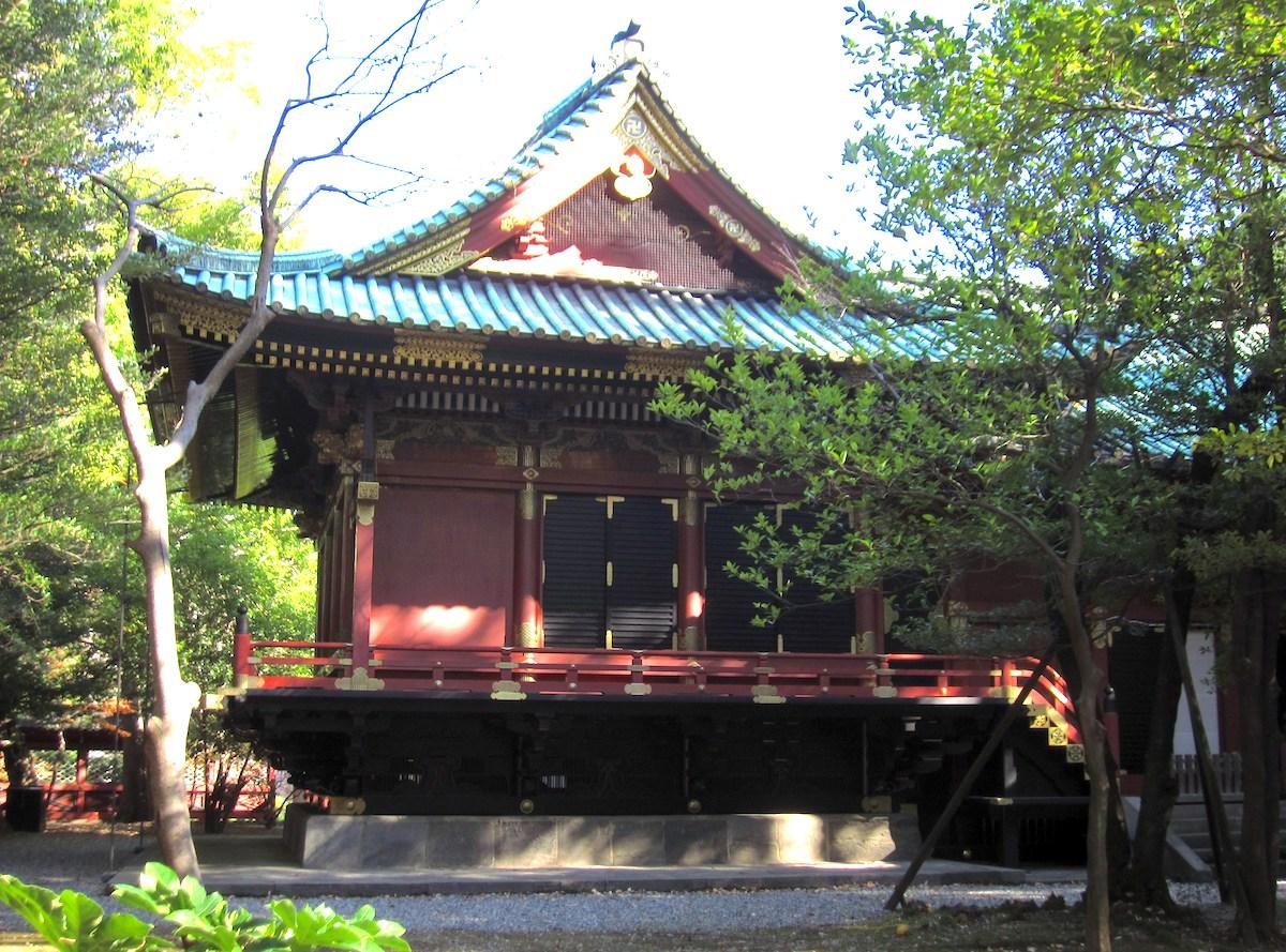 根津神社・本殿