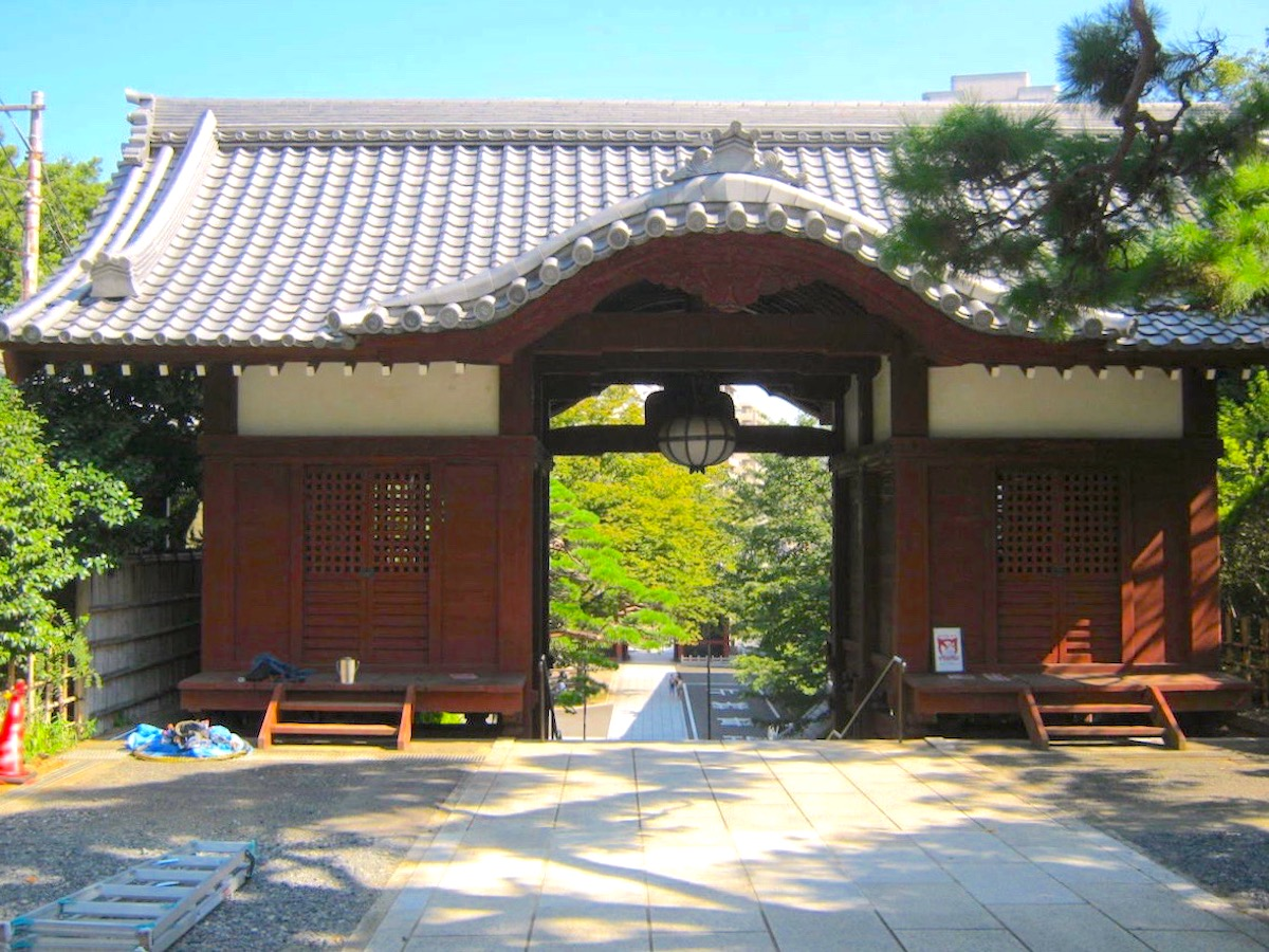 護国寺・不老門