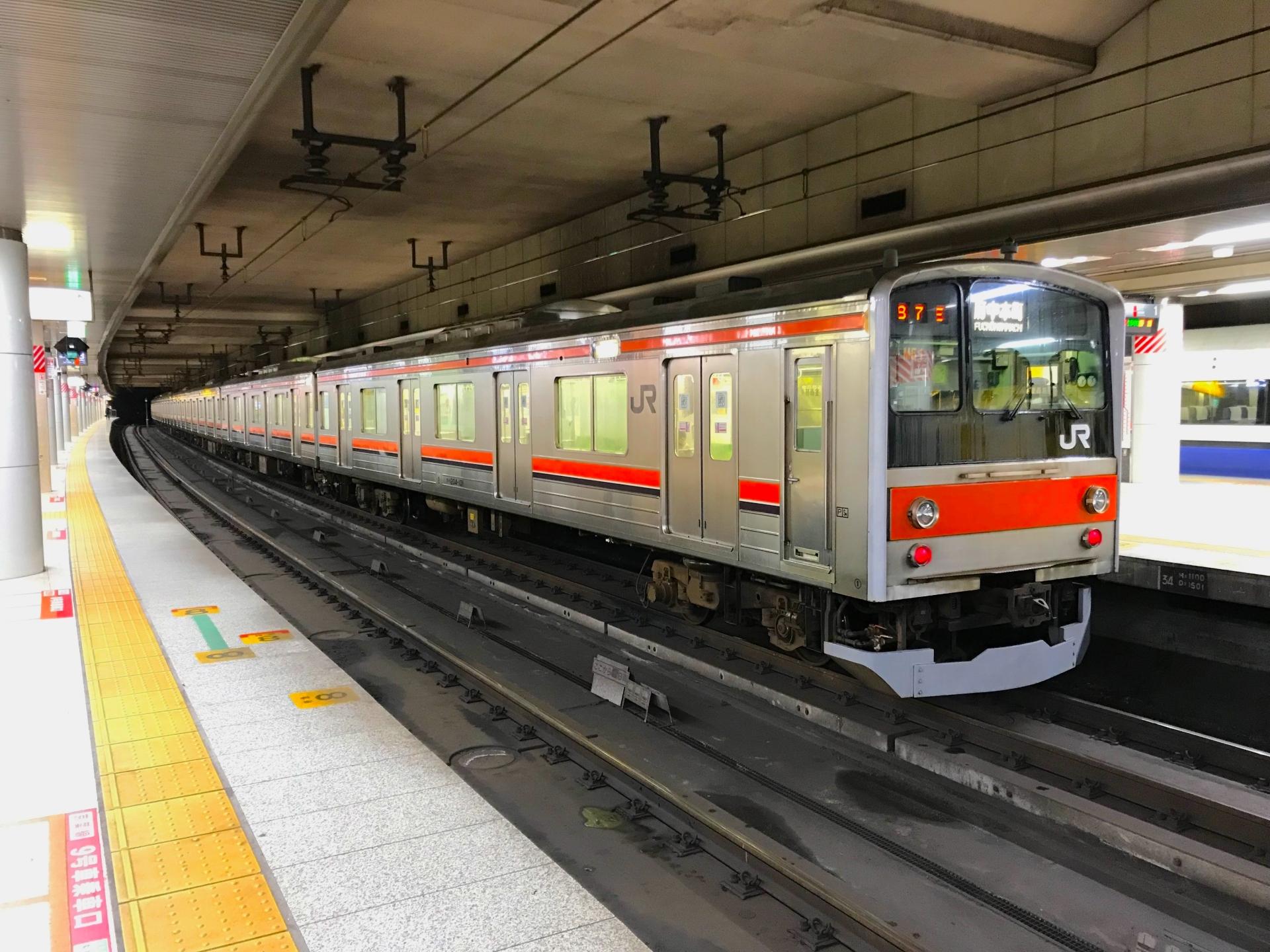 東京駅・京葉線ホーム
