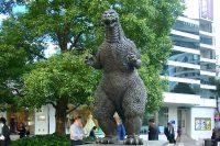 【待ち合わせ場所/日比谷】シャンテ前・ゴジラ像
