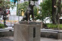 ハチ公前広場・忠犬ハチ公像